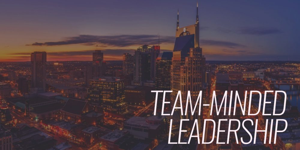 Team-Minded Leadership