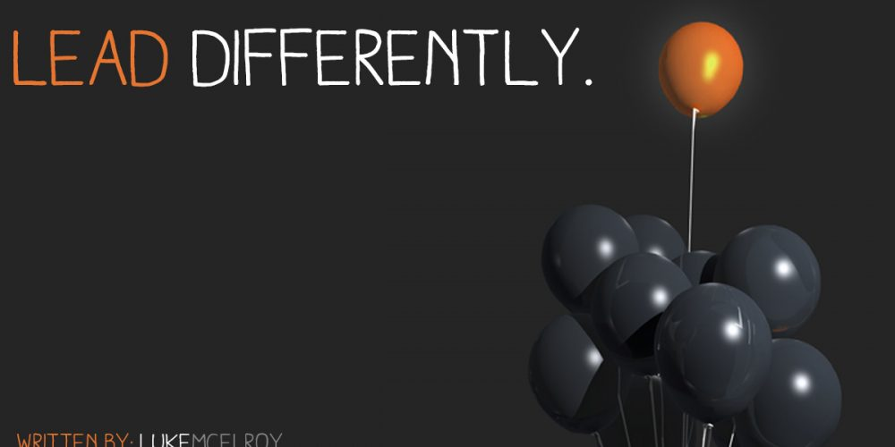 Lead Differently part 1