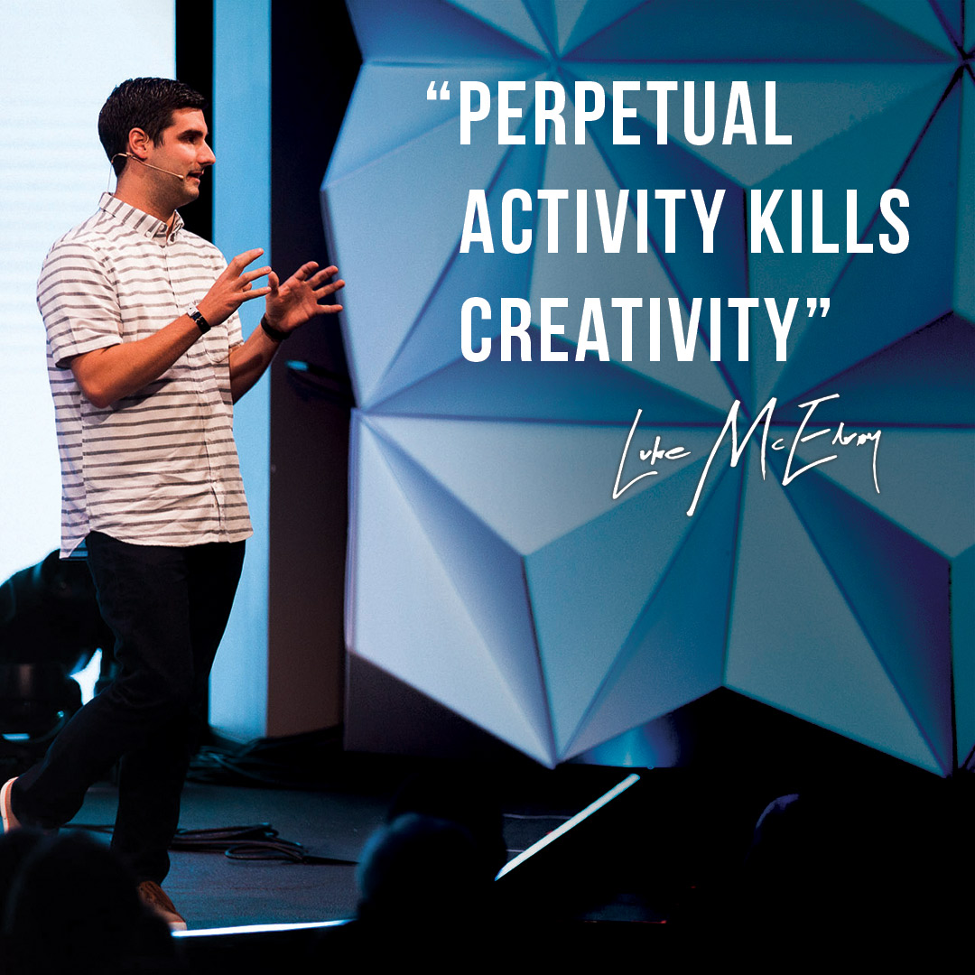 Book Quote from Luke McElroy on Creative Potential