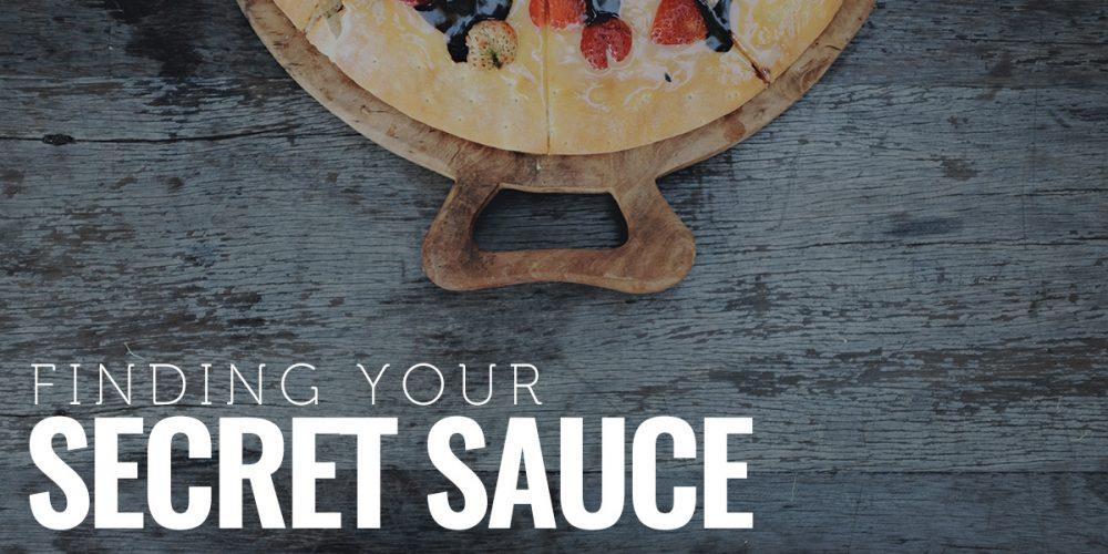 Featured - Finding Your Secret Sauce